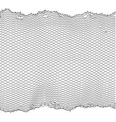 black fisherman rope net seamless texture vector image