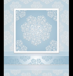 Set seamless patterns lace vector image vector image
