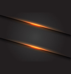 abstract yellow light line slash on dark grey vector image