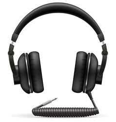 acoustic headphones 02 vector image