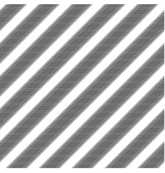 black white striped classic fabric texture vector image