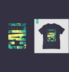 california graphic tee design typography print vector image