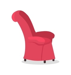 Dads Favourite Arm Chair Fathers Place in House vector
