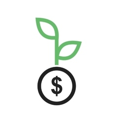 Growing Investment vector image