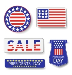 Presidents Day Icons vector image
