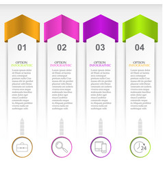 The layout for the infographic vector