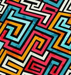graffiti lines seamless pattern vector image vector image