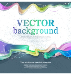 background for design vector image vector image