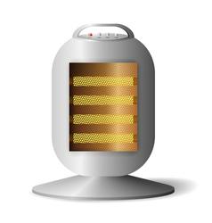Realistic Halogen radiator vector image