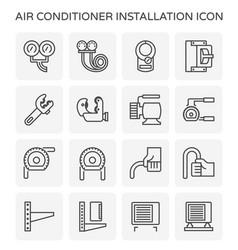 Air conditioner tool vector