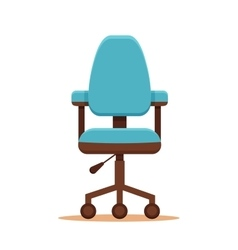 Business chair icon vector