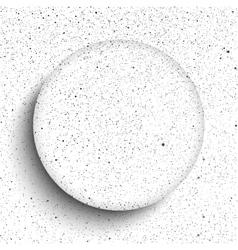 glass frame Snow falling Eps 10 vector image
