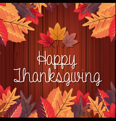 Happy thanksgiving celebrate vector