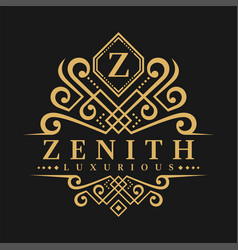 Letter z logo - classic luxurious style logo vector