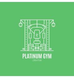 Line Sport Logo vector
