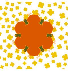 Mandala print brame vector