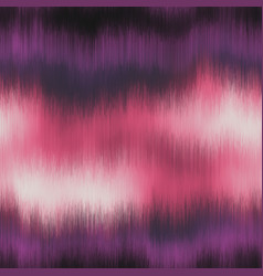 Soft blurry ikat gradient ombre seamless pattern vector