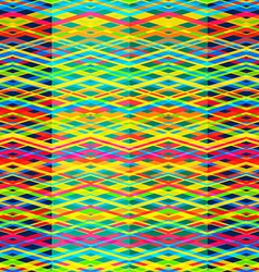 bright rainbow seamless pattern vector image vector image