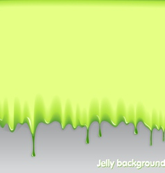 jelly background vector image vector image
