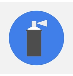 spray with paint icon vector image