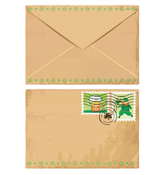 St. Patrick's Day letter vector image