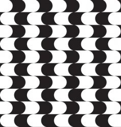 optical effect pattern vector image vector image
