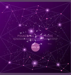 abstract purple background digitally drawn vector image