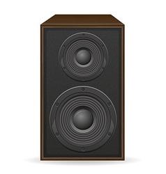 Acoustic loudspeaker 01 vector