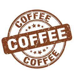 Coffee stamp vector