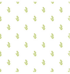 cypress leaf pattern seamless vector image
