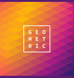 modern abstract geometric cover minimal design vector image