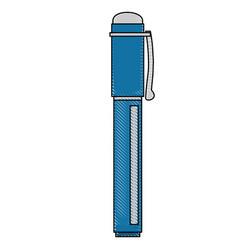 Pen utensil icon vector