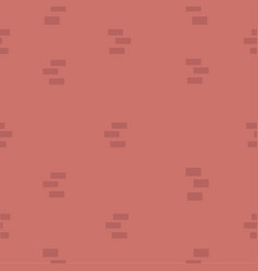 red brick wall pattern vector image
