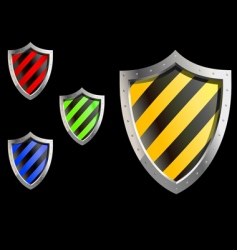 Security sheld icons vector