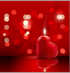 Valentines romantic background vector