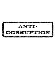 anti-corruption watermark stamp vector image vector image