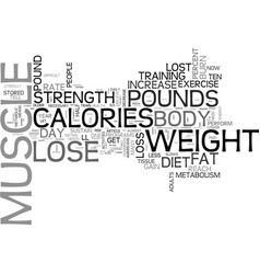 why do weight loss diets fail text word cloud vector image vector image