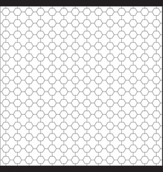 polygon background seamless pattern modern vector image
