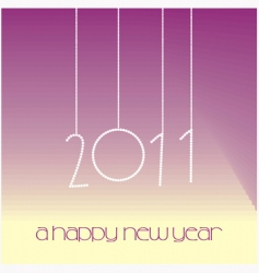 2011 new year vector