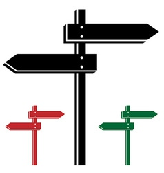3d direction arrows vector