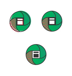 Article logo icons vector
