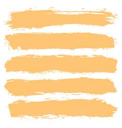 Brushstroke texture striped background vector