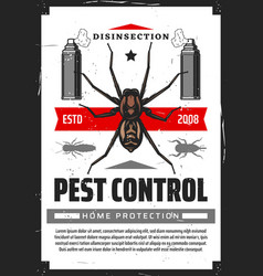 Disensection and pest control fumigation vector