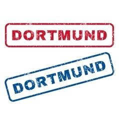 Dortmund Rubber Stamps vector
