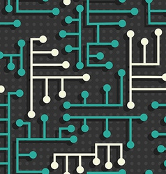 Electronic circuit pattern vector