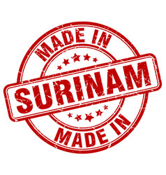 Made in surinam vector
