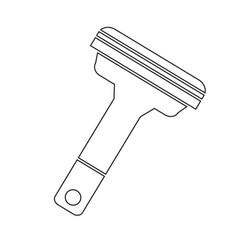 Shavers icon vector