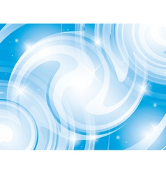 abstract shiny light blue background vector image