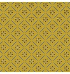Line flower geometric seamless pattern 4311 vector image