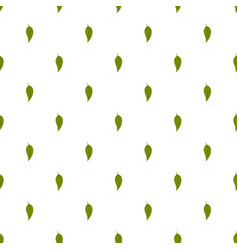 Dogwood leaf pattern seamless vector